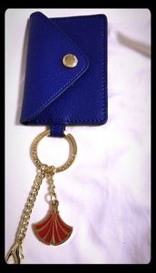 Accessories - Lacquered Bijoux Leather Envelope Key Ring